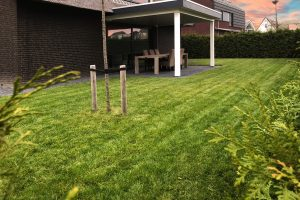 Strakke tuin in Blaricum