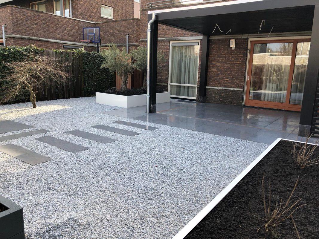 Strakke tuin in Capelle aan den IJssel