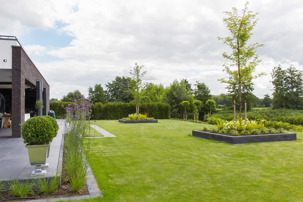 Grote tuin in Scherpenzeel