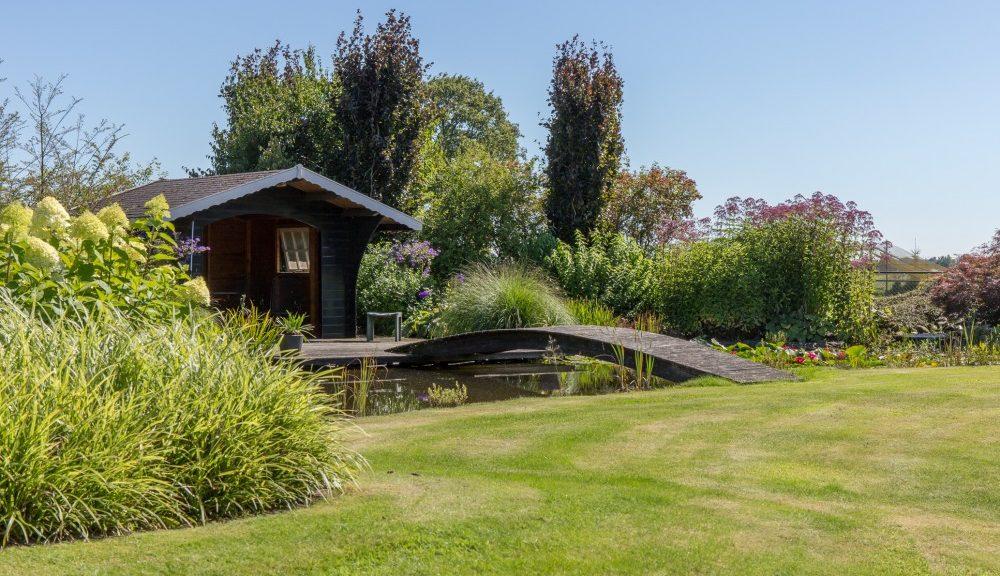 Onderhoud grote tuin in Scherpenzeel